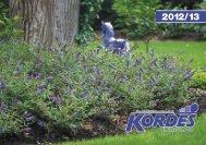 Catalog 2012/13 - Kordes-Jungpflanzen