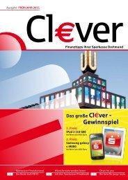Das große Cl€ver - Gewinnspiel - Sparkasse Dortmund