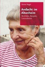 Andacht im Altenheim - Vandenhoeck & Ruprecht
