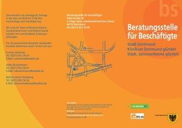 Beratungsstelle für Beschäftigte der Stadt Dortmund