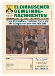 01 Gemeinde Dez 2012 - Gemeinde Elixhausen