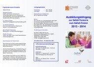 Ausbildung SelbA 2013.indd - Katholisches Bildungswerk Tirol