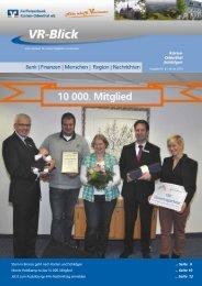VR-Blick - Ausgabe 8 - Januar 2013 - Raiffeisenbank Kürten ...