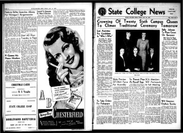 State College News 1947-10-24 - University at Albany Libraries