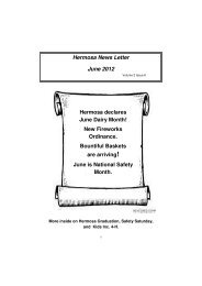 Hermosa News Letter June 2012 - Black Hills Recovery Network