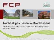 Überblick über die geriatrischen Neubauten des KAV unter - bauXund