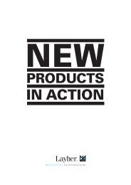 New Products in Action - Layher