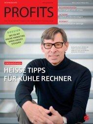 Januar / Februar 2012, Profits - LaserJob GmbH