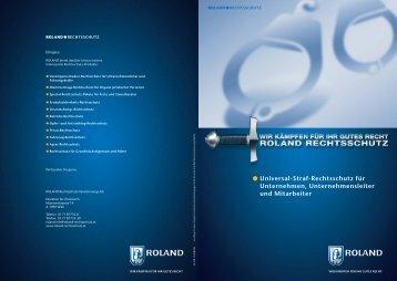 Universal-Straf-Rechtsschutz für Unternehmen, Unternehmensleiter ...
