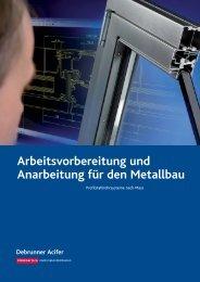 Arbeitsvorbereitung und Anarbeitung für den ... - Debrunner Acifer