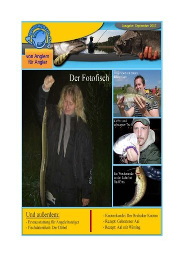 Das September Magazin als PDF - Angelmagazin.com