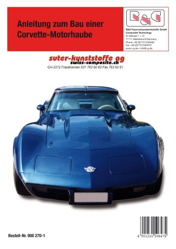Anleitung zum Bau einer Corvette-Motorhaube