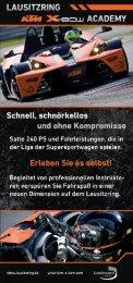 Download Info-Dokument KTM X-BOW Academy