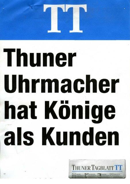 Thuner Tagblatt Koenige Kunden - Haldimann