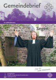 Nr. 3/2010 - Evangelische Burgkirchengemeinde Dreieichenhain