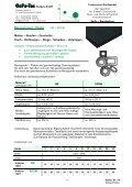 Zellkautschuk - Platte SBR + EPDM / CR - GaFa Tec Handels GmbH - Page 2