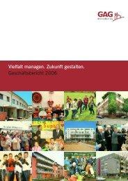 eschäftsbericht für das Geschäftsjahr 2006 (pdf - GAG Immobilien AG