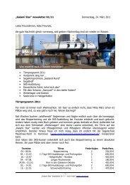 """""""Kalami Star"""" newsletter 01/11 Donnerstag, 24. März 2011 Liebe ..."""