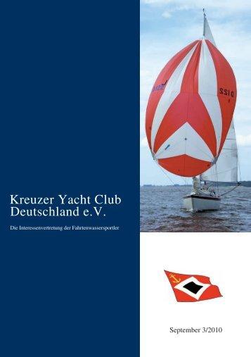 FriendSHiP-Cup 2010 - Kreuzer Yacht Club Deutschland e.V.