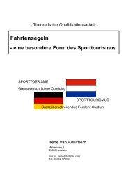 Fahrtensegeln - Europäische Akademie des Sports (eads)