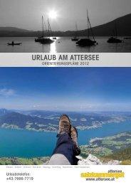 Orientierungsplaene 2012 - Attersee - Salzkammergut