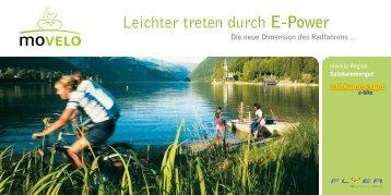Leichter treten durch E-Power - Bad Ischl - Salzkammergut