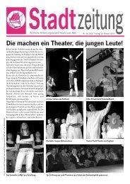 Die machen ein Theater, die jungen Leute! - in Hall in Tirol