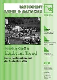 GaLaBau 2002 - Bundesverband Garten-, Landschafts