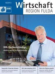 IHK-Jahresempfang 2012 - IHK Fulda