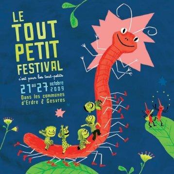 Le programme - Le Tout-petit festival