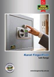 BURG_Karat Fingerprint Safe
