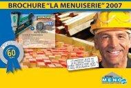 "BROCHURE ""la mEnUisERiE"" 2007"