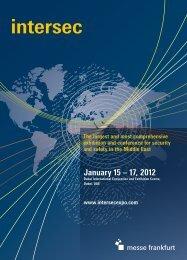 Intersec Brochure 2012 - Messe Frankfurt