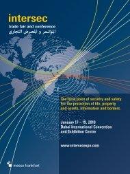 Intersec 2010 - Security Industry Association