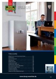 TRESORE - Wagner Sicherheitstechnik GmbH