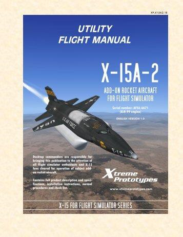 utility flight manual x-15a-2 - simMarket