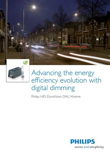 Product leaflet DynaVision DALI Xtreme drivers - Philips Lighting