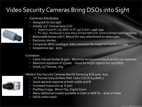 The Webcam Makes Solar Sy