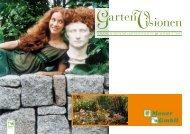 Blumen sind das Lächeln der Natur. Es - Mauer Garten- und ...