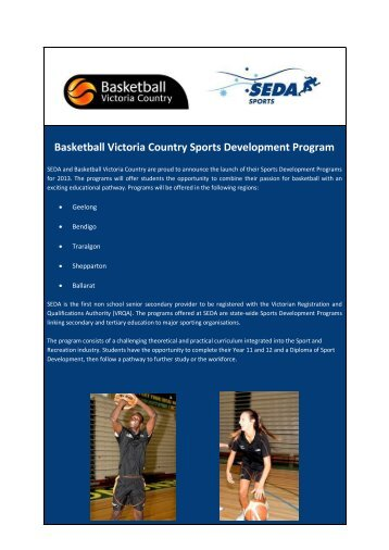 download flyer - Basketball Victoria Country