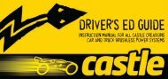 driver's ed guide - Castle Creations