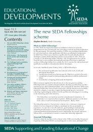 Educational Developments Issue 11.1 - Seda