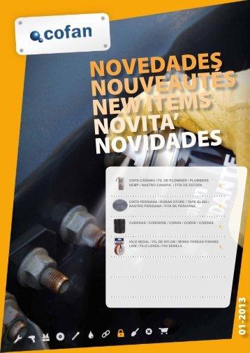 novedades nouveautés new items novita' novidades - Cofan