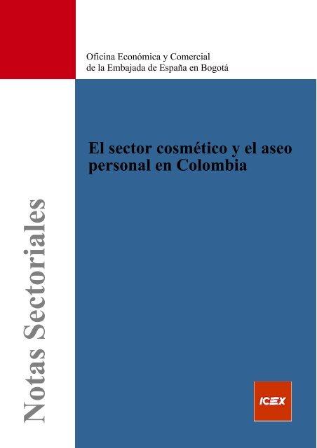 El sector cosmético y el aseo personal en Colombia - Icex