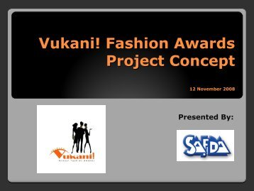Fashion Awards - Service Exporter Network (SEN)