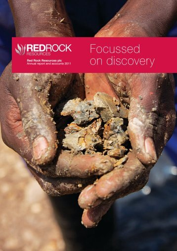 Red Rock Resources plc Annual report and accounts 2011