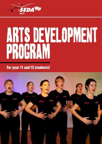 Download the SEDA Arts Program Guide