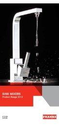 Sink Mixers 2012(544.88 kB, PDF) - Franke