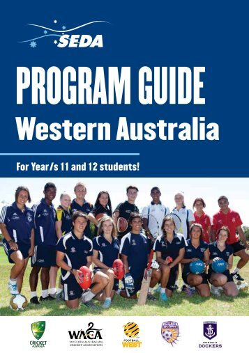 Download the SEDA Program Guide Western Australia