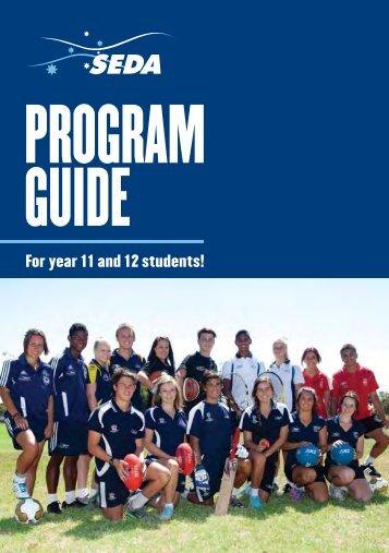 program guide - SEDA